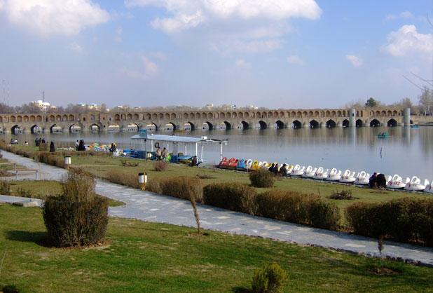 fleuve zayandeh ispahan