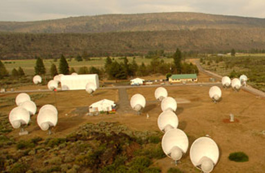 Les télescopes de l'Allen telescope Array