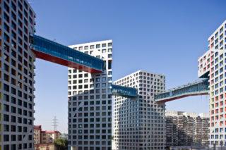 Le complexe Linkend Hybrid, de Pékin Photo : Iwan Baan