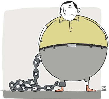 Chronique Essais étrangers de Jacques Godbout : La douleur de l'obèse