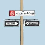 Garnotte, du Devoir, propose une mini-rue Richler