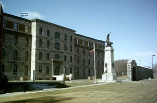 La célèbre prison du Pied-du-Courant, où les patriotes ont été exécutés en 1838,