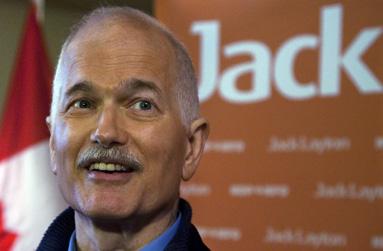 L'étoile de Jack Layton brille au Québec
