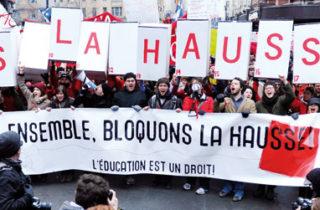 Grèves étudiantes : une histoire en sept temps