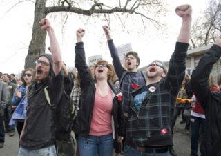 La grève étudiante vue de l'étranger