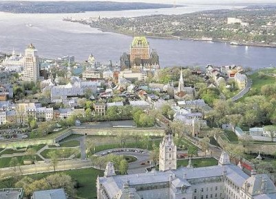 Une parcelle de la ville de Québec. Photo: La Presse canadienne