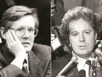 Bob Rae (photo : John McNeill / The Globe & Mail / PC) et Jean Charest (photo : Ron Poling / PC)