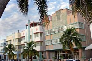 Le quartier Art déco de South Beach, à Miami - Crédit: Vacances WestJet