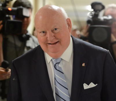 Le sénateur Mike Duffy. (crédit photo: Sean Kilpatrick/Presse canadienne)
