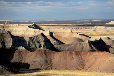 Badlands. Photo : Sara Feldt / NPS