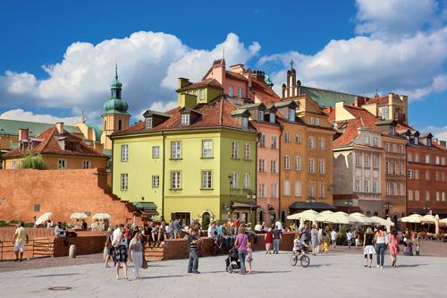 Varsovie. Photo : Jan Wlodarczyk / Alamy
