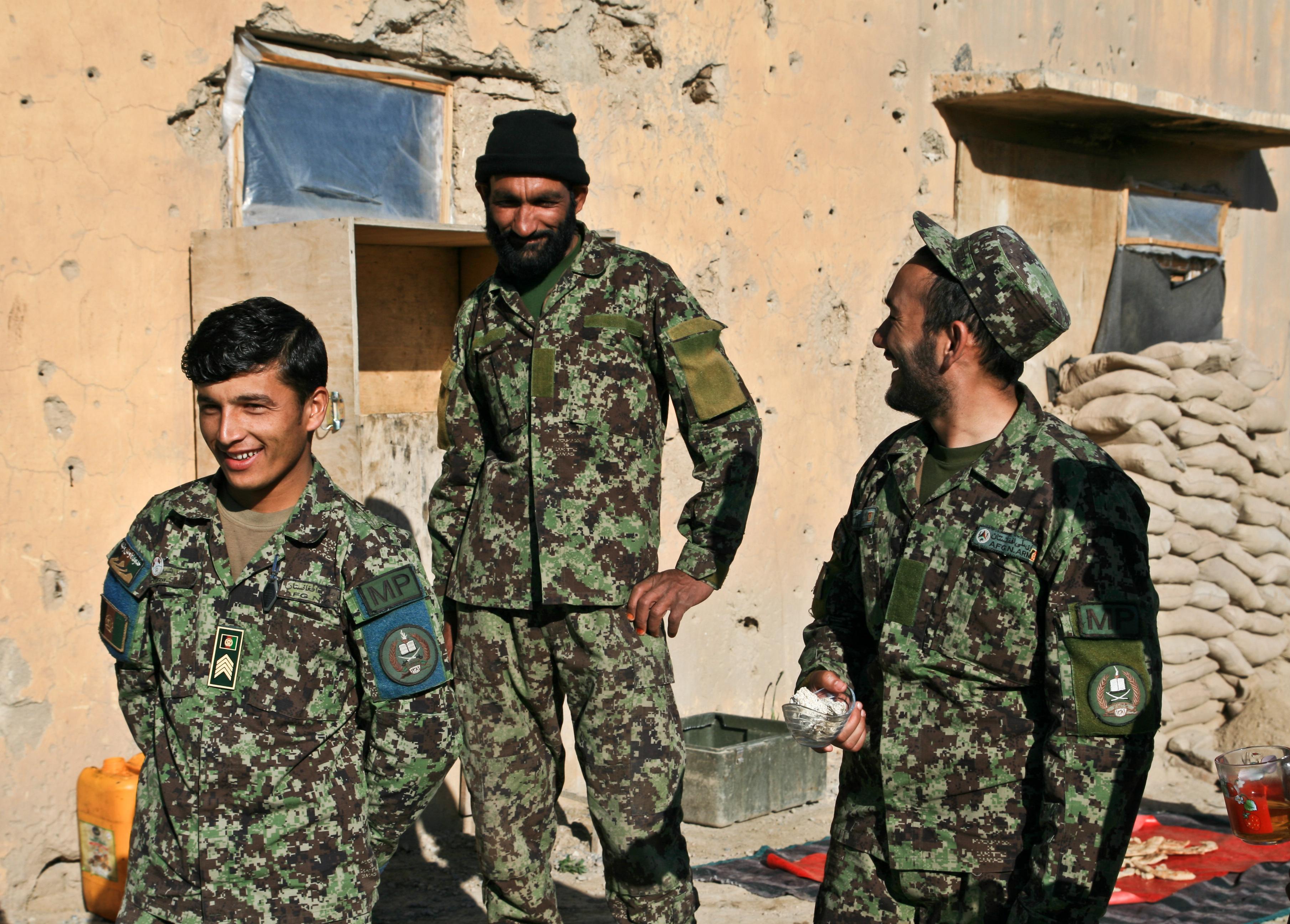 fusil afghan ancien