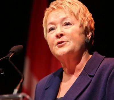 La première ministre Pauline Marois. (Crédit: Montréal métropole culturelle / CC BY-ND 2.0)