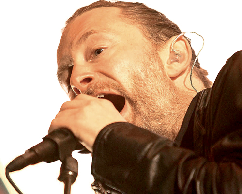 Thom Yorke a retiré tous les disques de son groupe, Radiohead, des sites de streaming. Photo : Newspix / Rex Features / La Presse Canadienne