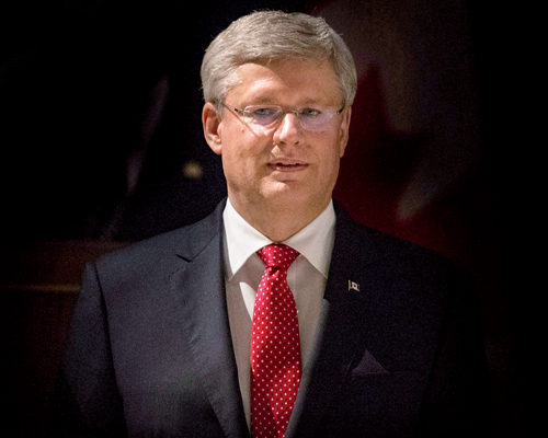 Stephen Harper - Photo : Chris Young / La Presse Canadienne