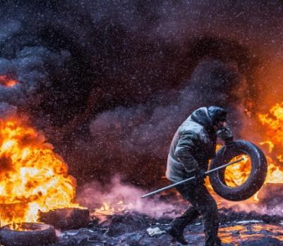 Mass Protest in Kiev