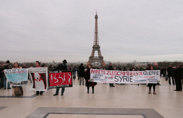 FRANCE-SYRIA-CONFLICT