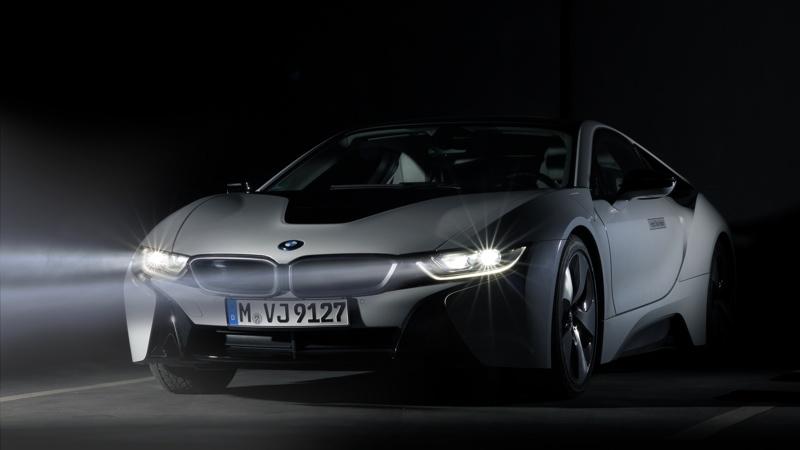 BMW dote sa i8 de phares au laser.