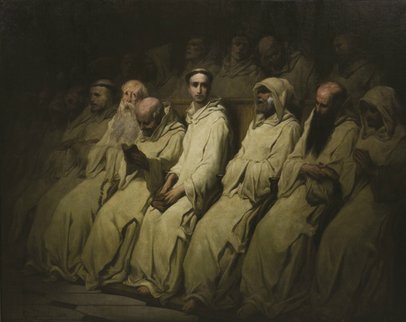 «Le néophyte», de Gustave Doré, huile sur toile, vers 1880-1883. (Avec l'autorisation de la Ville de Los Angeles, Department of Culture Affairs, City Art)