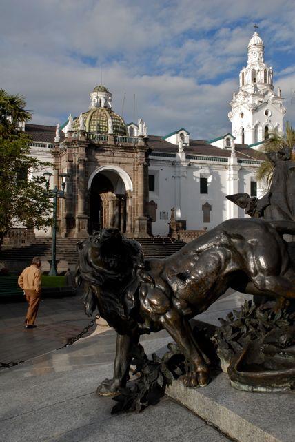 La Plaza Grande, en plein cœur de la ville - ©Gary Lawrence