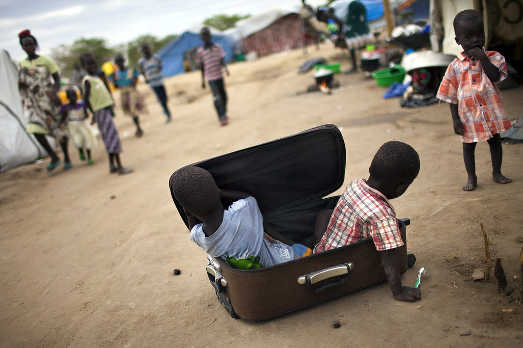 """TOPSHOTS 2014-SSUDAN-UNREST-DISPLACED"""