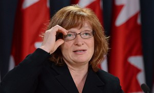 Suzanne Legault.  Sean Kilpatrick / La Presse Canadienne