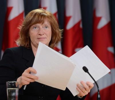 La Commissaire à l'information du Canada, Suzanne Legault. (crédit photo: Sean Kilpatrick / La Presse Canadienne)