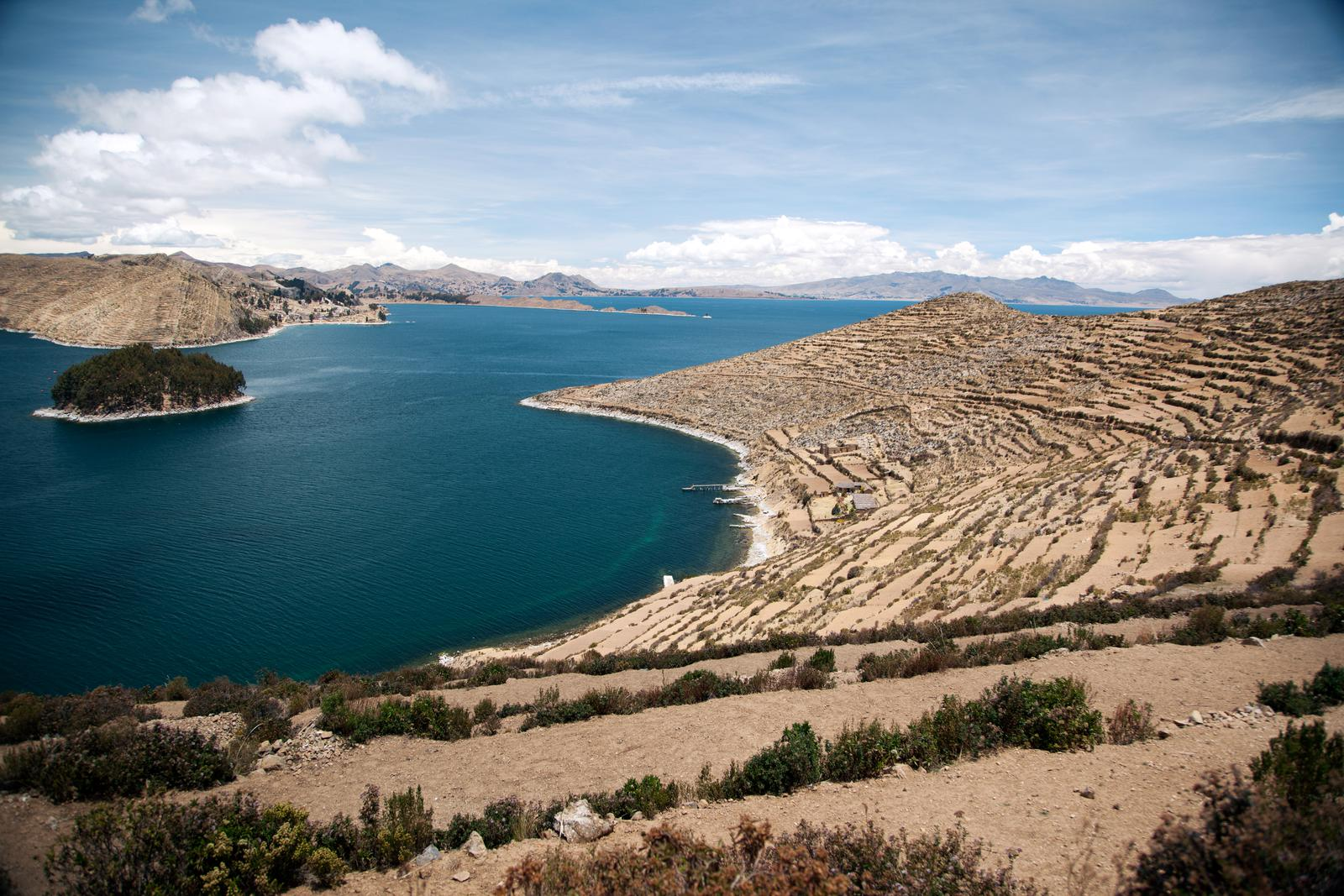 Le lac Titicaca, en Bolivie - Crédit: New York Times
