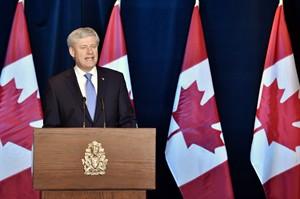 Stephen Harper.  Nathan Denette / La Presse Canadienne