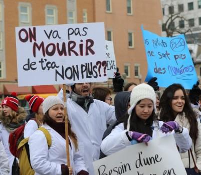Photo: Pascal Huot/Newzulu/La Presse Canadienne