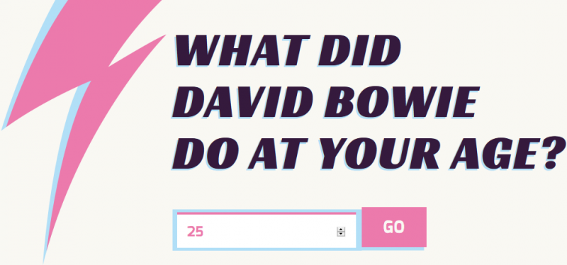 What Did Bowie Do