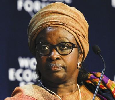 Bineta Diop. (Photo: EPA / Nic Bothma)