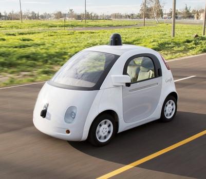La voiture électrique autonome de Google. (Photo: Google)