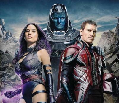 X-Men : Apocalypse, tourné à Montréal en 2015, prendra l'affiche cet été. (Photo: Moviestore Collection Ltd/Alamy Stock Photo)