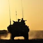 Un véhicule blindé léger en Afghanistan, en 2011. (Photo: Caporal Dan Shouinard/Forces armées canadiennes)