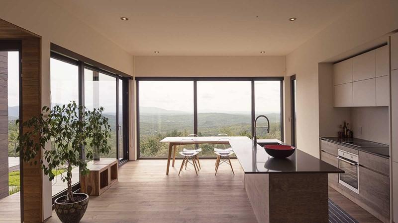 Ode la lumi re art de vivre l actualit for Architecte quebecois contemporain
