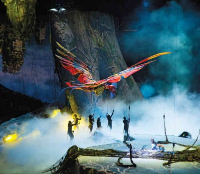 Toruk Avatar Cirque Soleil