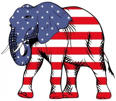 éléphant républicain mini