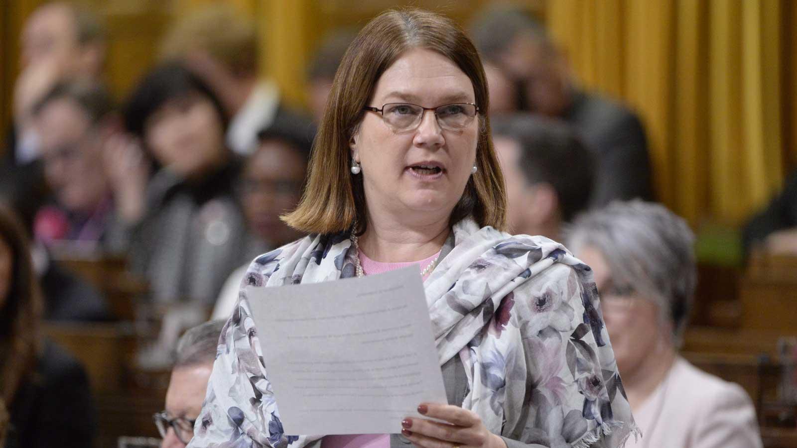 La ministre de la Santé, Jane Philpott (Photo: Adrian Wyld/La Presse Canadienne)