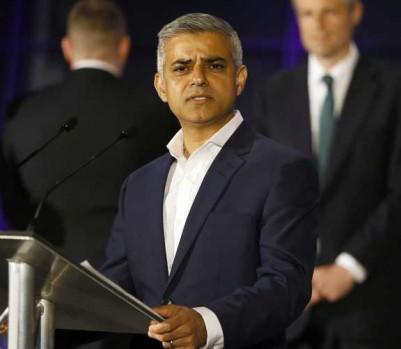Sadiq Khan maire Londres