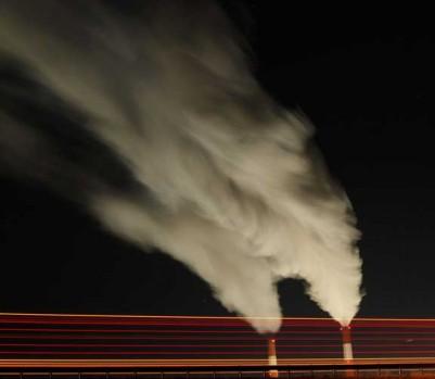 Émissions carbone centrale charbon