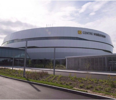 The Centre Videotron is shown on Tuesday, September 8, 2015 in Quebec City. An NHL franchise returning to Quebec City is among the 10 Canadian sports stories to watch over the coming year.THE CANADIAN PRESS/Jacques Boissinot