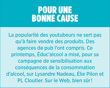 Youtubeurs youtube encadré 1