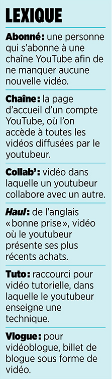 Youtubeurs youtube encadré 3
