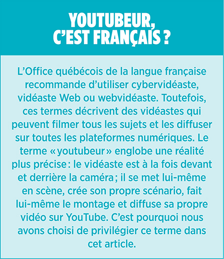 Youtubeurs youtube encadré 4