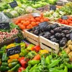 Épicerie fruits légumes étalages