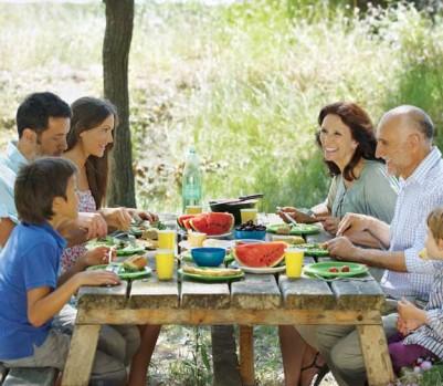 Manger famille pique-nique repas alimentation