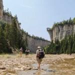 Île Anticosti randonnée marche nature