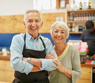 Shot of a senior couple running a small business togetherhttp://195.154.178.81/DATA/i_collage/pu/shoots/806387.jpg (Photo: iStockPhoto)