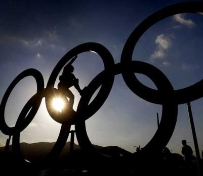 Rio JO Jeux olympiques anneaux